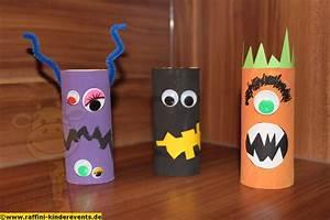 Ideen Für Halloween : cute halloween monster recycling craft for kids recycling basteln mit kindern fuer halloween ~ Frokenaadalensverden.com Haus und Dekorationen