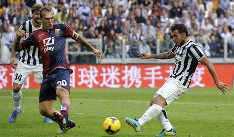 Juventus Genoa Tevez