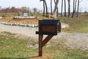 Wood Mailbox Designs — Unique Hardscape Design : Choosing