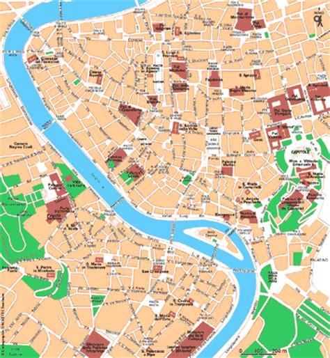 Carte De Touristique Interactive by Carte Rome Touristique Photo Du Monde