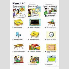 Where Is It? Worksheet  Free Esl Printable Worksheets Made By Teachers