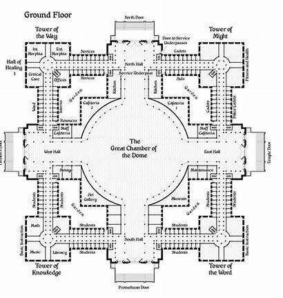 Minecraft Castle Blueprints Floor Map Fantasy Building