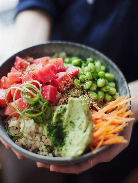 poke inspired beet bowl   roots