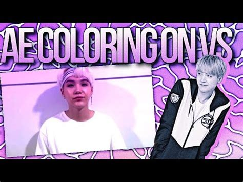 ae coloring  videostar youtube