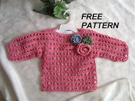 5 Free Crochet Sweater Patterns For Beginners
