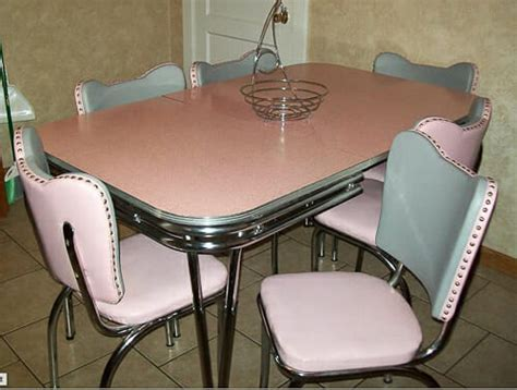 Reupholster 1950s dinette chairs affordably   Retro Renovation