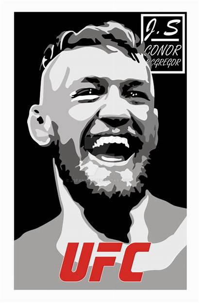 Mcgregor Conor Artwork Deviantart Vectorified Drawings Favourites