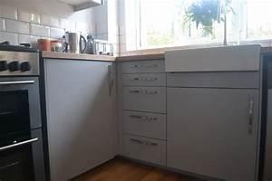 Ikea Küche Veddinge : my completely renovated kitchen with ikea veddinge grey fronts karlby worktop and domsjo sink ~ Eleganceandgraceweddings.com Haus und Dekorationen