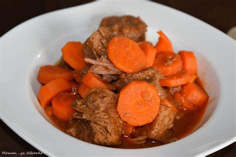 carotte cuisine boeuf aux carottes blogs de cuisine