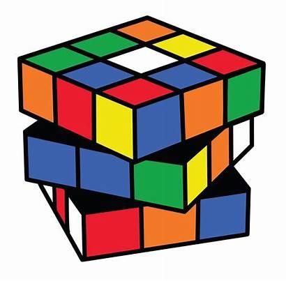 Cube Clip Clipart Rubiks Rubix Magic Puzzle