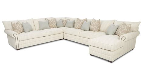 sectional sofa with nailhead trim huntley traditional sectional sofa with nailhead trim and