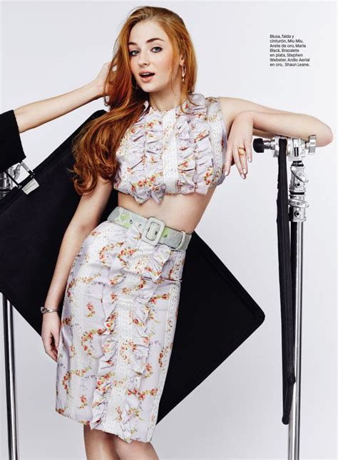 Sophie Turner - Photoshoot for Glamour Mexico July 2015 ...