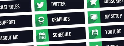 twitch labels templates twitch panels for free and setup guide nerd or die