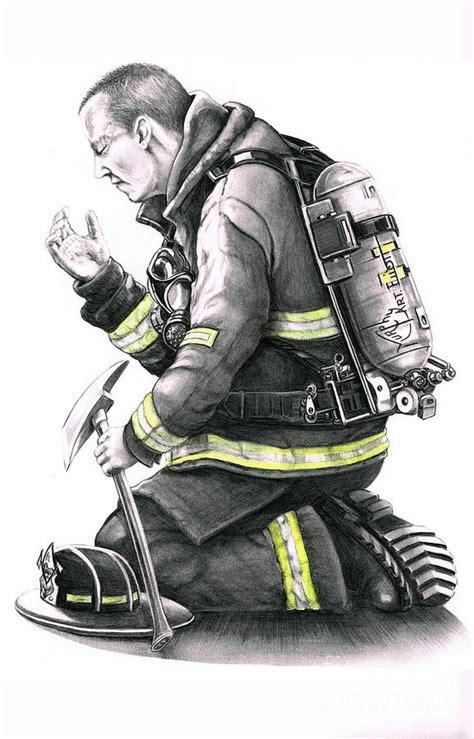 firefighter drawing by murphy elliott