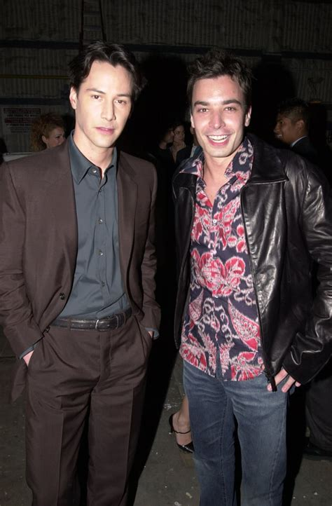 Keanu Reeves and Jimmy Fallon, 2000 | Old Red Carpet ...