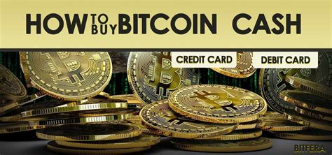 Btc, eth, bnb and xrp or stablecoins like tether, busd. How To Buy Bitcoin Cash With Credit Card Or Debit Card? - Bitfera