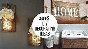 2018 DIY Home Decorating Projects To Try!