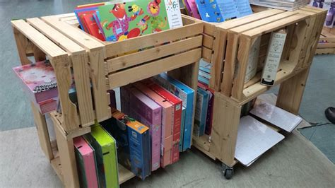 upcycling wooden crates cool ideas  decorate  home