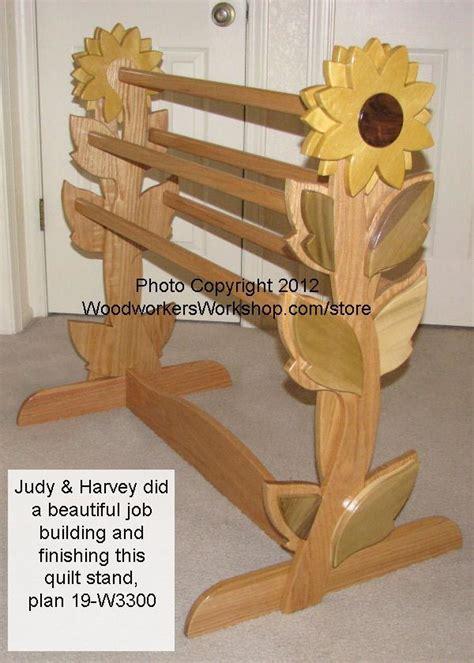 quilt rack woodworking plan woodworkersworkshop  store