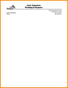 Resume Letterhead Exles by 10 Sle Letterhead Doc Hostess Resume