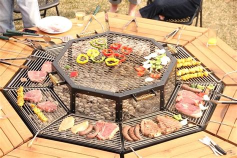 pit table grill amazing jag grill bbq table home design garden