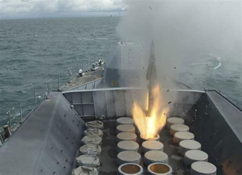 hms argyll fires seawolf missile   radar