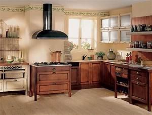 Cuisine Ancienne Campagne : cuisine ancienne avec des meubles en bois ~ Nature-et-papiers.com Idées de Décoration