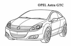 opel cars coloring pages0007jpg omalovanky k vytisknuti With p0105 opel astra g