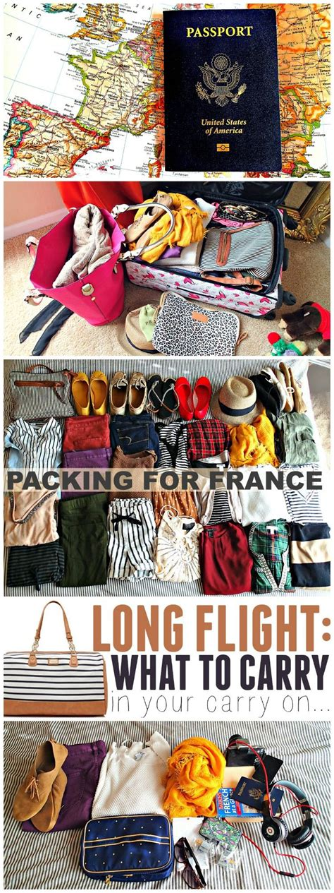Packing For France Carry On Personal And Clothes Paris