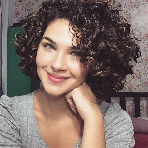 curly wavy short hairstyles  haircuts  ladies