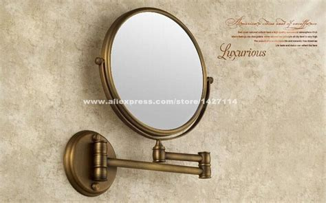 Antique Bathroom 8 Inch Mirror Magnifying Mirror With Wall