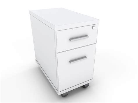 narrow desk with drawers white two drawer narrow under desk pedestal specialist