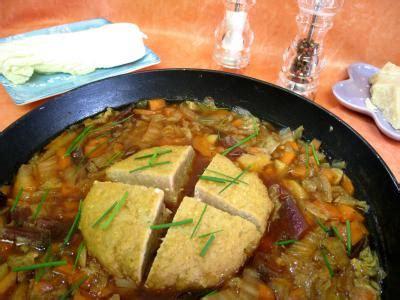 chou chinois cuisine potage chou chinois et sa boulette de porc supertoinette