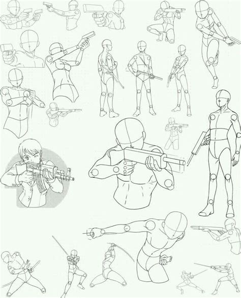 drawing reference guns and stances drawing and animation drawings drawing art sketches