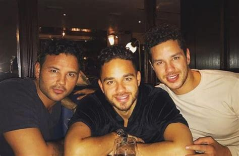thomas ryan adam brothers scott brother twin he emmerdale instagram famous stag hilarious reveals received amazing gift wedding actor shares