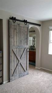 best 25 barn doors ideas on pinterest sliding barn With kitchen colors with white cabinets with barn door wall art