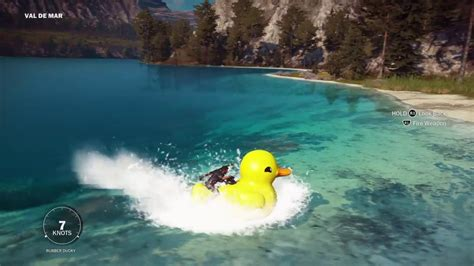 Duck Boat Easter Egg by Just Cause 3 Pt 3 Duck Jet Ski Easter Egg