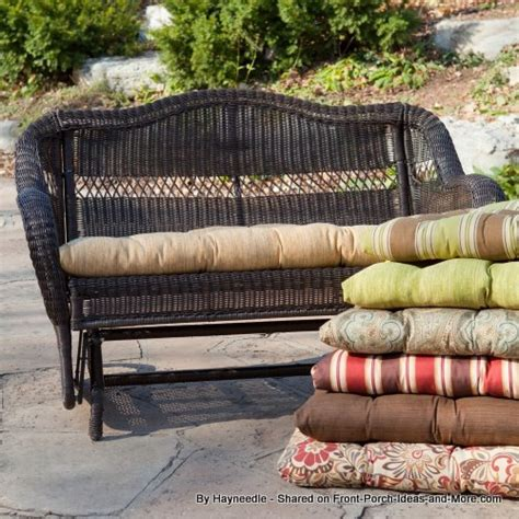 Patio Swing Cushions by Porch Swing Cushions Outdoor Swing Cushions Swing Cushions