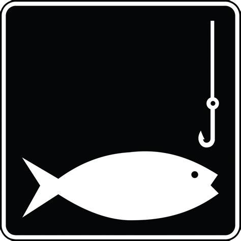 fishing black  white clipart