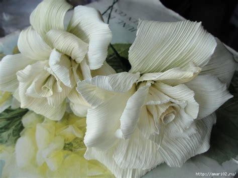 diy beautiful corn husk flowers