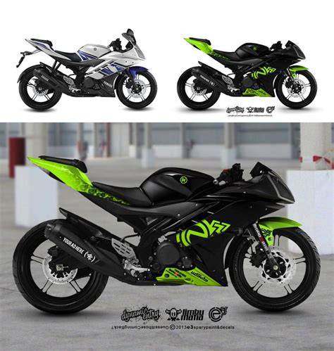 R15 Bike Modified by Yamaha R15 List Motorcycle Decals Yamaha Bikes
