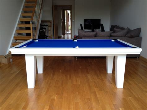 white pool table dining table pool dining table in white blue snooker pool tables