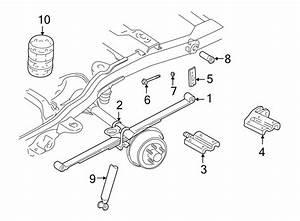 Oldsmobile Bravada Leaf Spring Plate  Suspension  Right
