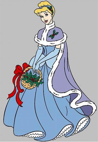 Disney Clipart Christmas Cinderella Princess Clip Fan