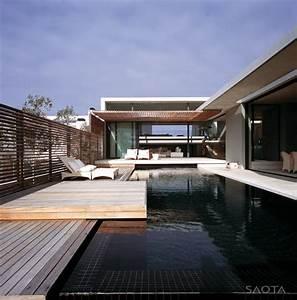 Split-level, Beach, House, In, South, Africa, By, Saota