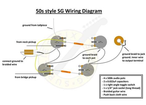 gibson sg standard wiring diagram wiring diagram for gibson sg