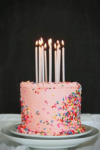 Cake Birthday Mini Happy Gifs Bday Candles