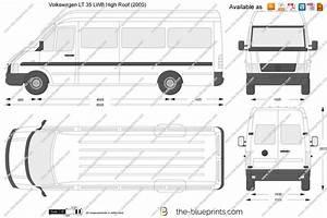 Dimension Volkswagen Up : volkswagen lt 35 lwb high roof vector drawing ~ Medecine-chirurgie-esthetiques.com Avis de Voitures