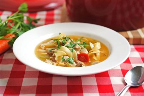grandmas homemade chicken noodle soup