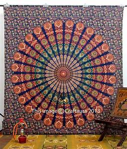 Mandala tapestries hippie tapestry wall